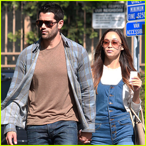 Jesse Metcalfe Takes a Break From 'Dead Rising' to Hang with His Fiancee Cara Santana