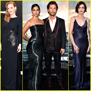 Matthew McConaughey & Jessica Chastain Are Out of This World at the 'Interstellar' Premiere
