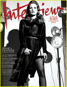 Jessica Chastain Talks Aspirations to Do a Comedy One Day