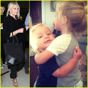 Jessica Simpson Missed Her Kids So Much She Had to Fly Home - See the Adorable Pic!
