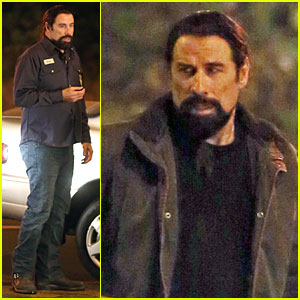 John Travolta Puts His 'Life On the Line' As an Electrical Repairmen