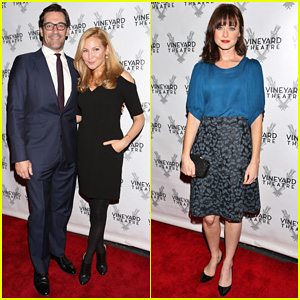 Jon Hamm & Alexis Bledel Support Vincent Kartheiser at 'Billy & Ray' Opening Night!