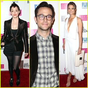 Joseph Gordon-Levitt & Rose McGowan Hit Up Hollywood for 'White Bird in a Blizzard' Premiere!
