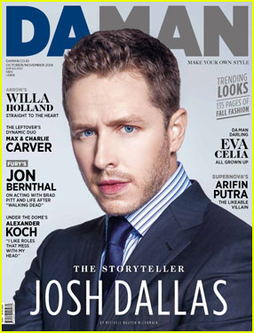 Josh Dallas Says Being a Dad Has Opened His Eyes