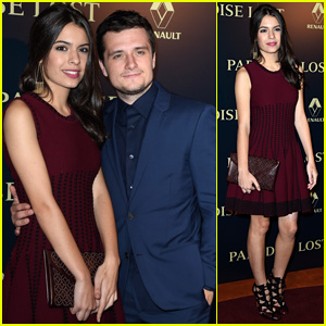 Josh Hutcherson Premieres 'Paradise Lost' in Paris with Girlfriend Claudia Traisac