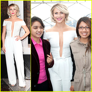 Julianne Hough Lights Up Empire State Building for International Day of the Girl