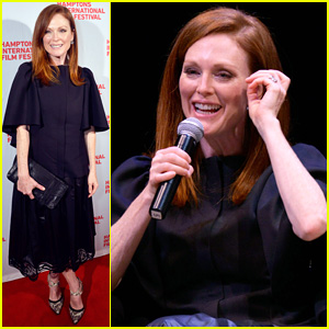 Julianne Moore Closes Out the Hamptons Film Festival in Style with 'Still Alice' Premiere!