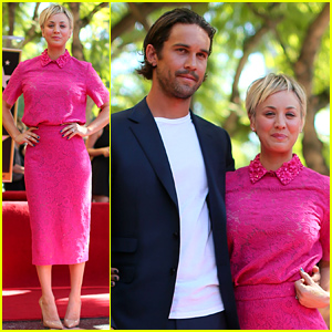Kaley Cuoco Receives a Star on the Hollywood Walk of Fame!