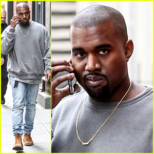 Kanye West Took Kim Kardashian Shopping at the Gap!
