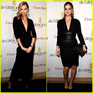 Karlie Kloss & Barbara Palvin Are Totally Glam Models in Paris