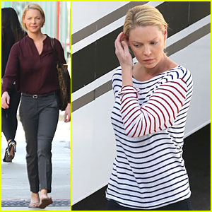 Katherine Heigl Shows Us the White House on 'State of Affairs' Set!