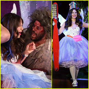 Scandal's Katie Lowes Gets Scared by Guillermo Diaz on Ellen's Halloween Episode!