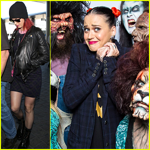 Katy Perry's Birthday Wish Comes True Because of the Shakey's Pizza Marquee!