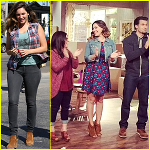Kelly Brook & Her 'One Big Happy' Cast Complete 1st Live Taping - See the Photo!