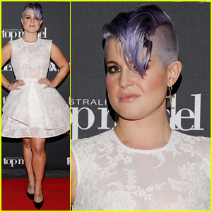 Kelly Osbourne Shows Off Her Shaved Head at Top Model Announcement!