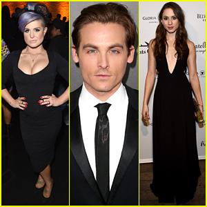 Kelly Osbourne & Troian Bellisario Help Raise Over $3 Million at amfAR Gala 2014