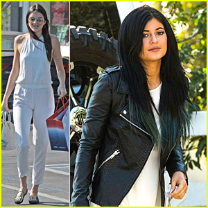Kendall & Kylie Jenner Catch Up With Friends Separately