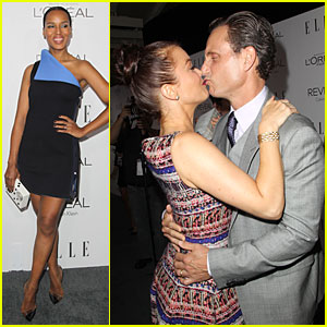 Kerry Washington Brings 'Scandal' to Elle Women in Hollywood Celebration