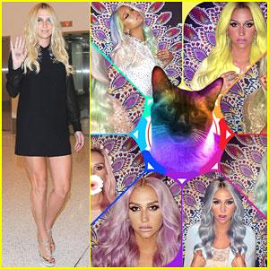 Kesha Says Her Cat Peeps is Hypnotizing