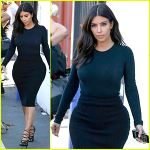 Kim Kardashian Gets Back to Work After Birthday Surprise From Husband Kanye West