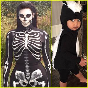Kim Kardashian & North West Are Freaky & Cute on Halloween