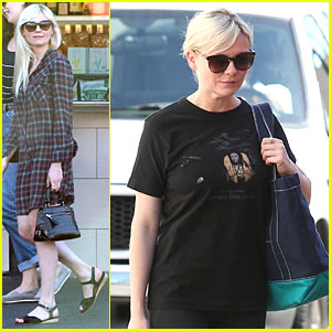 Kirsten Dunst Wore a Dirty Dress For Months For 'Two Faces of January'!