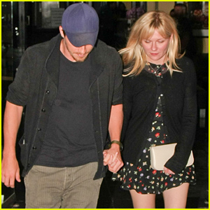 Kirsten Dunst & Garrett Hedlund Hold Hands For Their Date Night