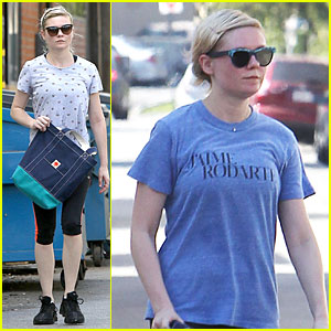Kirsten Dunst Stays Fit By Hitting the Gym For Two Straight Days