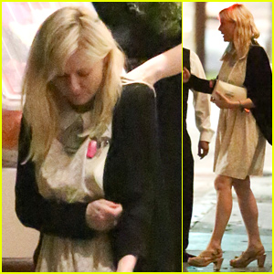 Kirsten Dunst Heads to a Dinner Meeting with Kate Mulleavy!