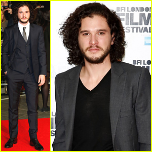 Kit Harington Premieres 'Testament of Youth' for BFI Film Festival!