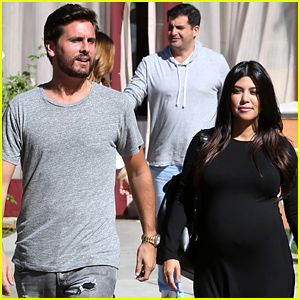 Kourtney Kardashian Looks Like She Could Give Birth Any Day Now!