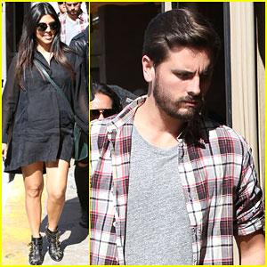 Kourtney Kardashian & Scott Disick Get Back to Filming 'Keeping Up with the Kardashians'