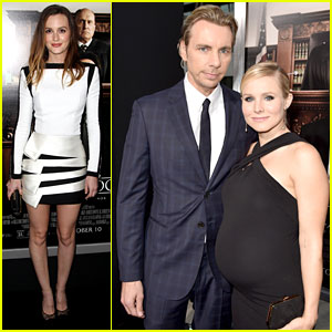 Kristen Bell & Leighton Meester Step Out for 'Judge' Premiere