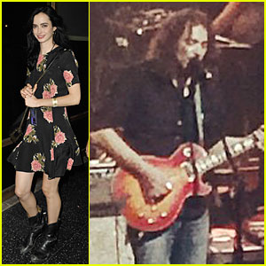 Krysten Ritter Loves Watching Boyfriend Adam Granduciel Perform in Concert!