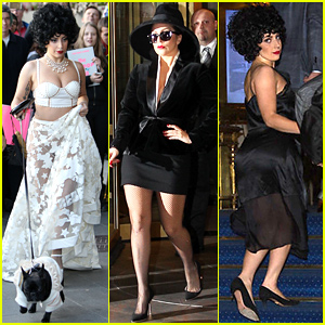 Lady Gaga Makes Several Outfit Changes While Sightseeing in Sweden!
