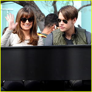 Lea Michele & Chord Overstreet Duet on the Piano For 'Glee'