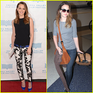 Leighton Meester Hits Mill Valley for 'Like Sunday, Like Rain' Premiere with Billie Joe Armstrong!
