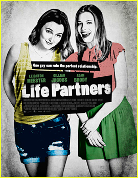 The Poster for Leighton Meester & Adam Brody's Film 'Life Partners' is Here!