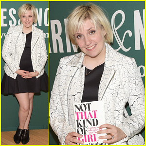 Lena Dunham Hits The Grove for 'Not That Kind of Girl' Signing!
