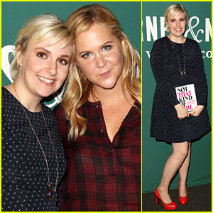 Lena Dunham Moved to Tears at Her First Book Signing