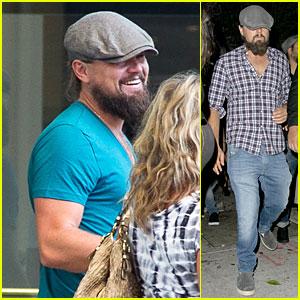Leonardo DiCaprio Exits Steve Jobs Biopic & Hits Art Museum in Los Angeles