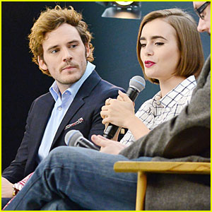 Lily Collins Used Her Own Personality To Make Sam Claflin Laugh In 'Love, Rosie'
