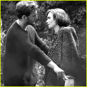 Lily Collins & Sam Claflin Get Romantic for Net-A-Porter's 'Edit' Mag