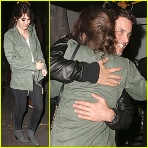 Lizzy Caplan & James Marsden Hug During Sweet 'Bachelorette' Reunion