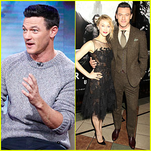 Luke Evans Wishes He Channeled Dracula & Had Bitten 'Today' Hosts!