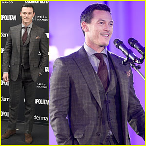 Luke Evans Gets Honored at Cosmopolitan Fun Fearless Awards