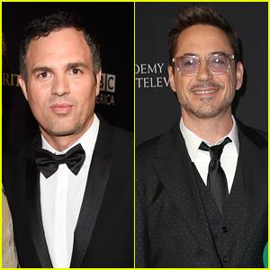 Mark Ruffalo & Robert Downey Jr Honored at Britannia Awards