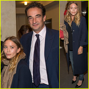 Mary-Kate Olsen Joins Fiance Olivier Sarkozy at Take Home a Nude Benefit