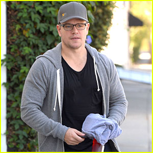 Matt Damon Fits In an Intense Workout Before the Weekend