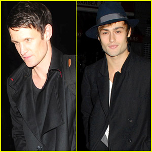 Matt Smith & Douglas Booth Take A 'Zombie' Break